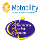 Motability approved and a member of the Mobility Assist Group